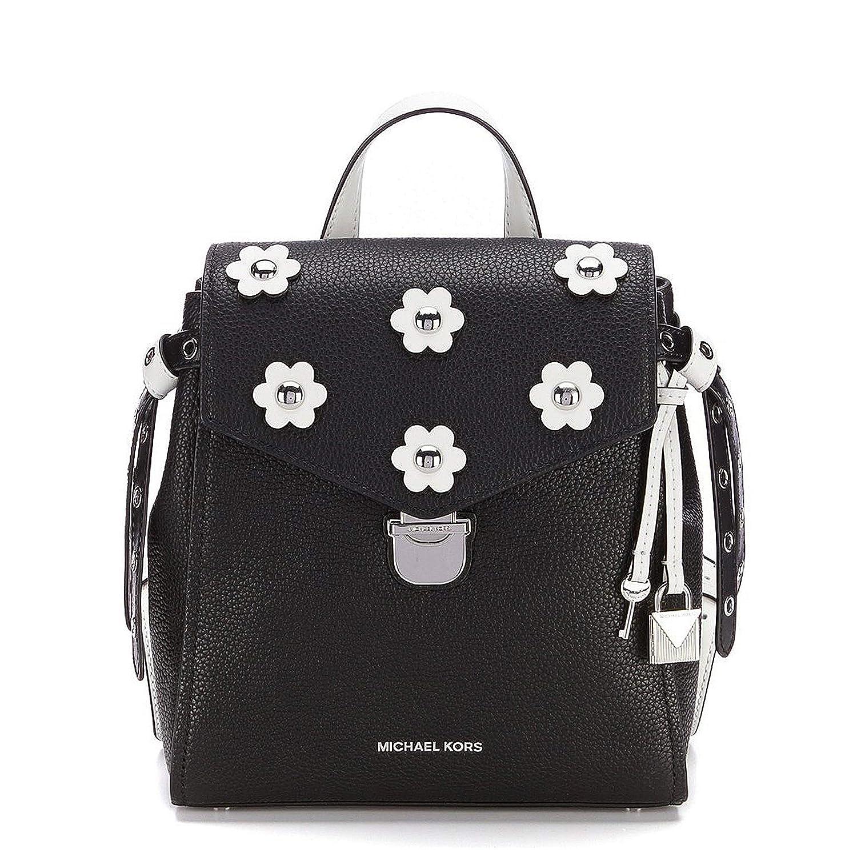 2f9c3eb66c10e3 Amazon.com: MICHAEL Michael Kors Bristol Small Backpack, Black/Optic White  Floral: Clothing