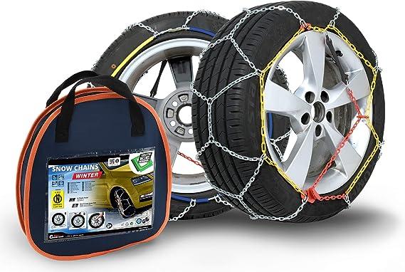 Compass Schneeketten Winter Für Reifen 215 60 R17 Önorm TÜv Geprüft X120 1 Paar Auto