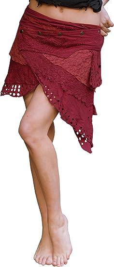 Leather skirt Leather skirt festival skirt psytrance skirt tribal skirt skirt gypsie skirt steampunk skirt primitive skirt