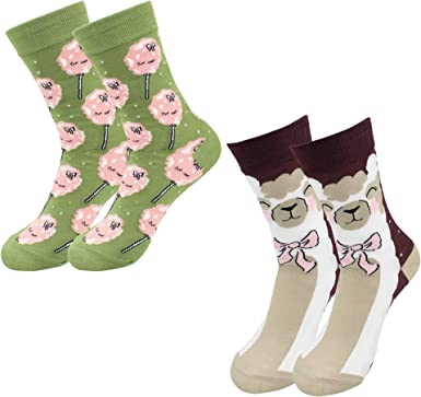 Cotton Dress Socks For Men Women Casual Psychedelic Socks