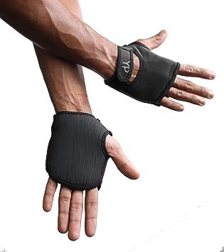 Amazon.com: YogaPaws SkinThin Guantes de yoga no acolchados ...