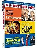 So British - Coffret : T2 Trainspotting + Layer Cake + Snatch [Blu-ray + Copie digitale]
