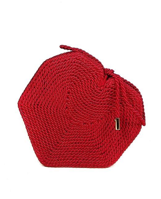 Zara - Bolso mochila para mujer Rojo rosso M: Amazon.es: Ropa y accesorios
