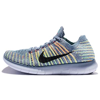 Mujeres Nike Free Motion Running Motion Free Flyknit Zapatos Ocean dce79b
