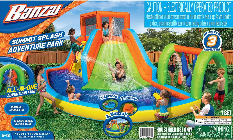 Amazon.com: Parque de aventuras de la Cumbre de BANZAI: Toys ...