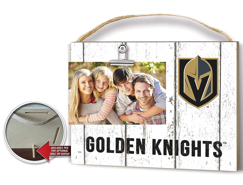 KH Sports Fan Clip It Weathered Logo Photo Frame Las Vegas Golden Knights