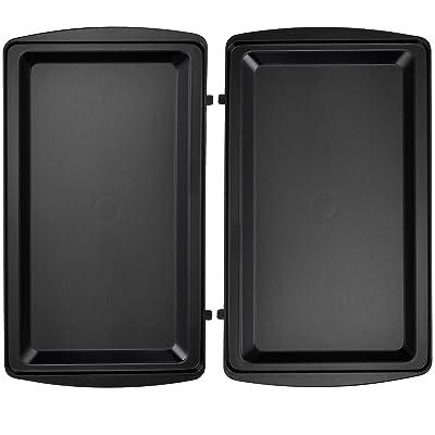 1x Flat Grill Plaques Compatible avec la Rox Chef Maker SM-1300W