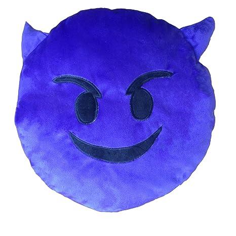 Healthy clubs Sonreír Emoji Emoticon Cojín Decoración Sofá ...