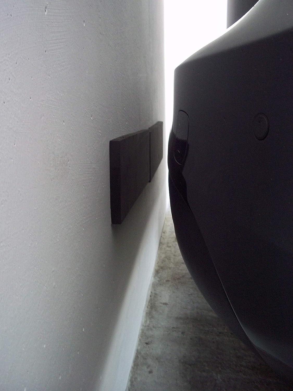 Tapis de protection tr/ès /épais Protection de porti/ère pour garage et abri auto protection murale pour voiture et garage chacun 40/x 12/x 1,5/cm Protection Topp4u des bords et porti/ères