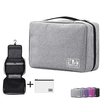 3814dfe61b61 Amazon.com   Hanging Toiletry Bag For Men   Women