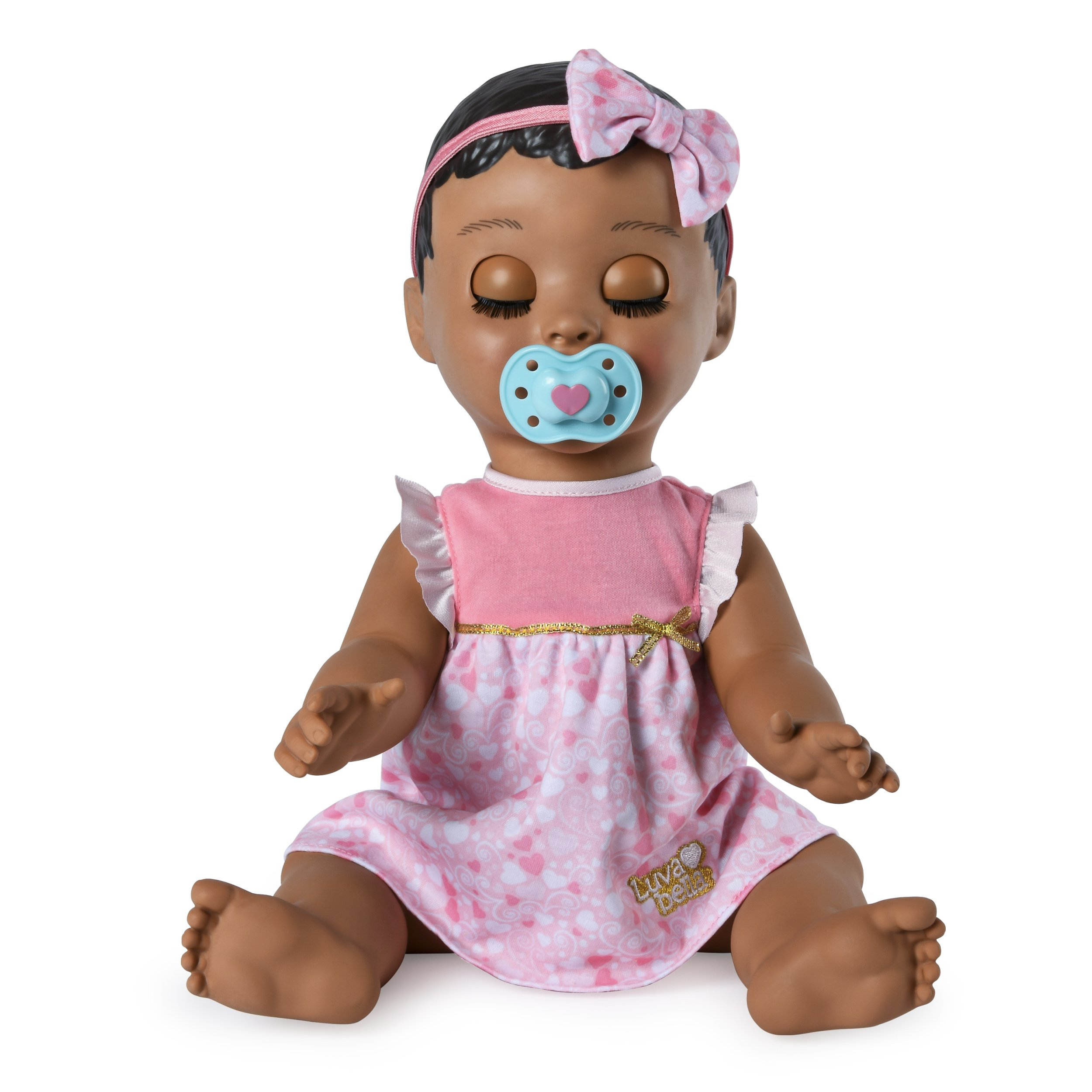 Luvabella Brown Hair Interactive Baby Doll With Expressions Movement Ages 3 Buy Online In Fiji Luvabella Products In Fiji See Prices Reviews And Free Delivery Over 200 Fj Desertcart