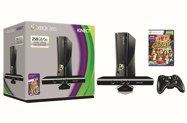 Microsoft Xbox 360 S 250GB System Kinect Bundle