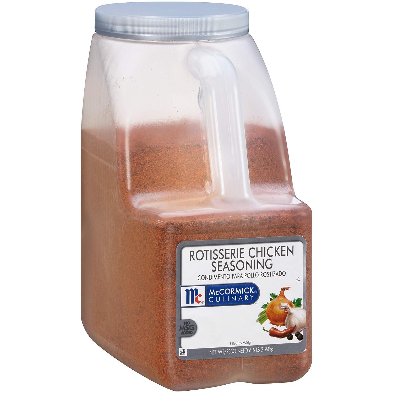 McCormick Culinary Rotisserie Chicken Seasoning, 6.5 lbs
