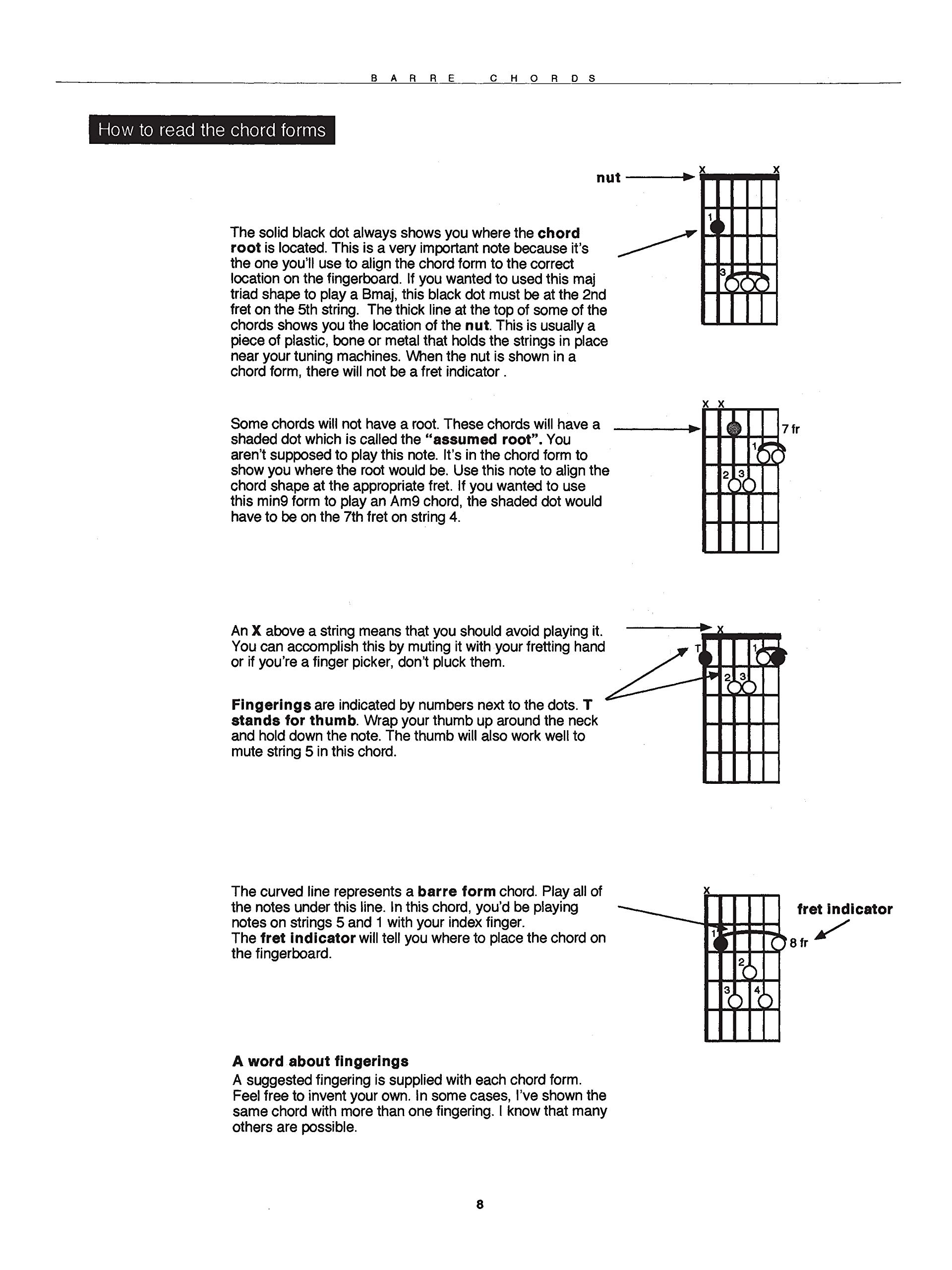 Barre Chords (Ultimate guitar chord series): Amazon.es: Latarski ...
