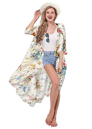 Veste kimono femme motif