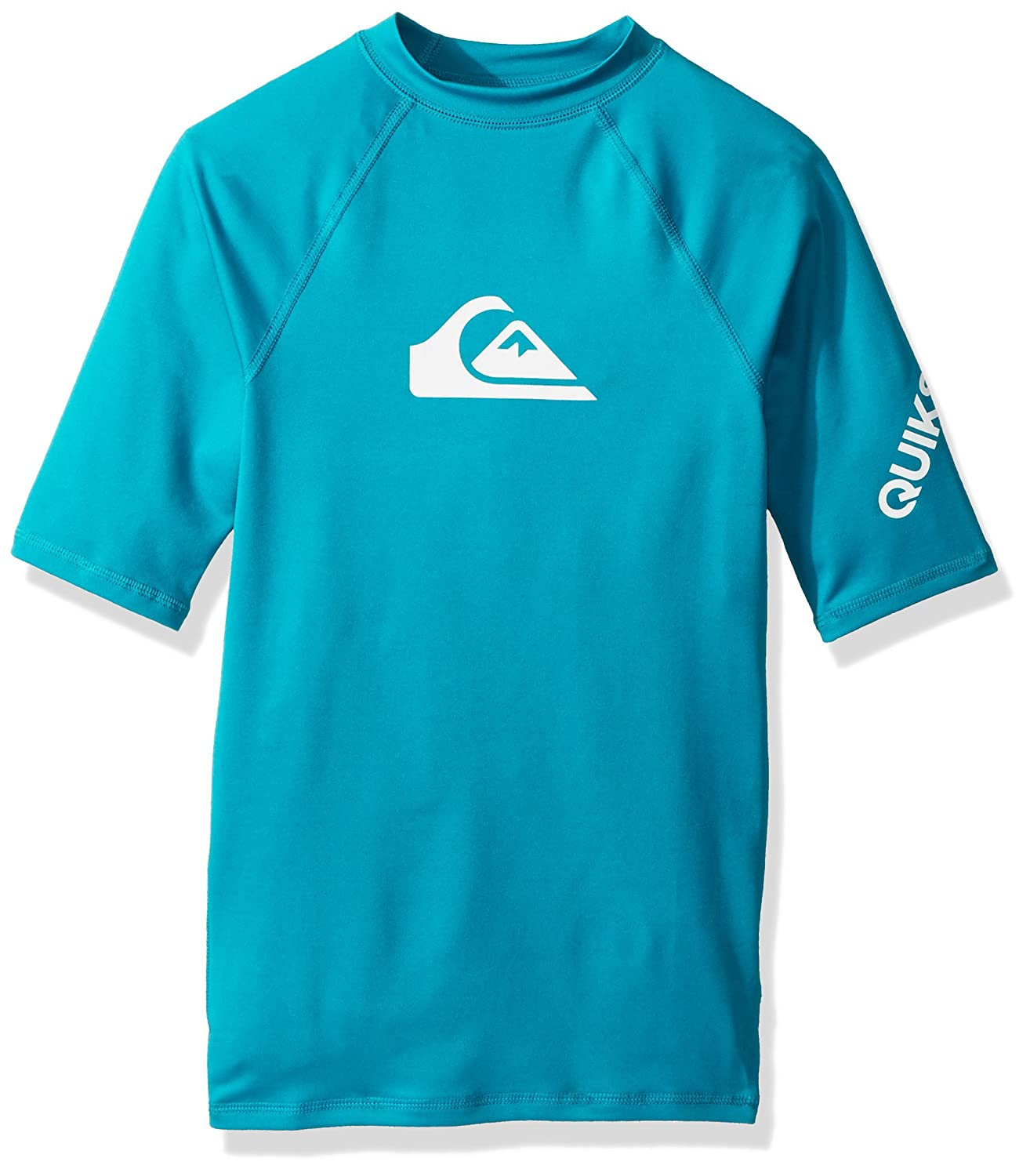 Quiksilver Time UPF 50 Youth Boys Short-Sleeve Rashguards EQBWR03060