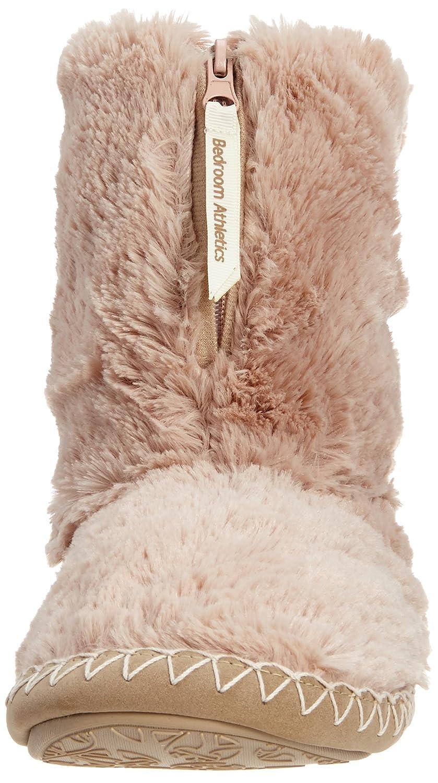 slippers bedroom itm sherpa athletics boots warm mens fleece zipped bootie fur