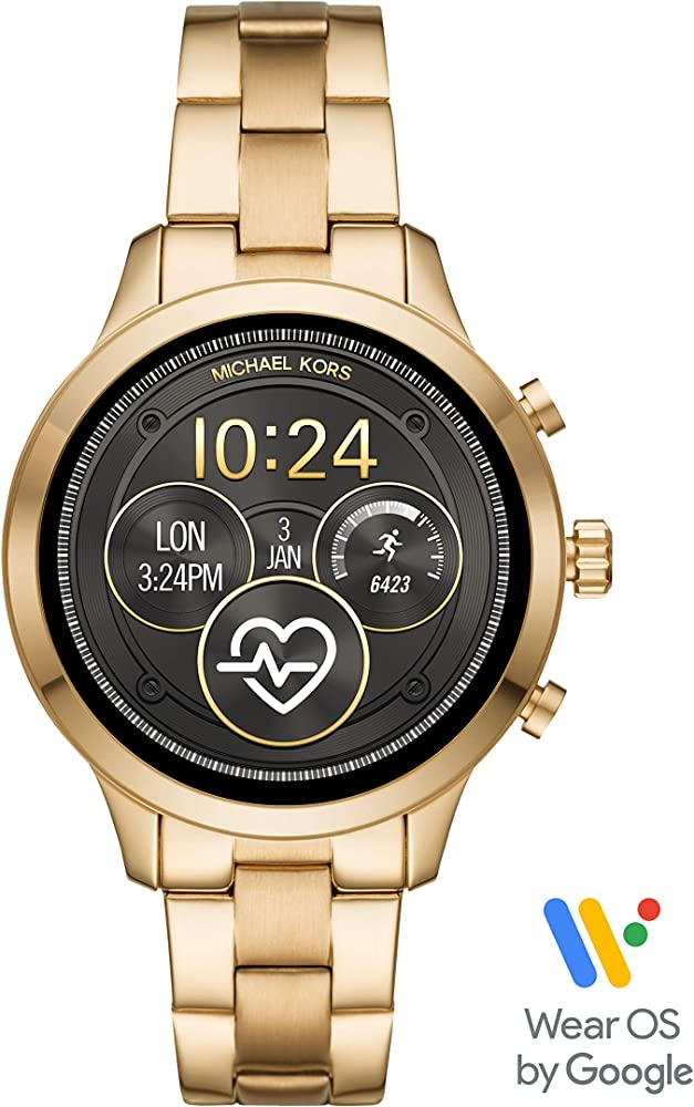 Access Runway Smartwatch Powered with Wear OS by Google with Heart Rate, GPS, NFC, and Smartphone Notifications