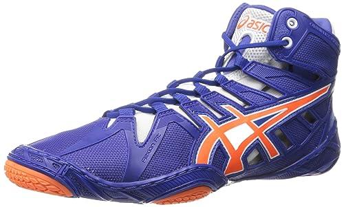 f7a24a6a057bb Asics Omniflex-attacco 2 Wrestling scarpe  Amazon.it  Scarpe e borse