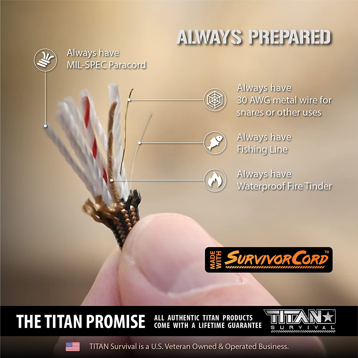 titan survivorcord paracord_survival kit list