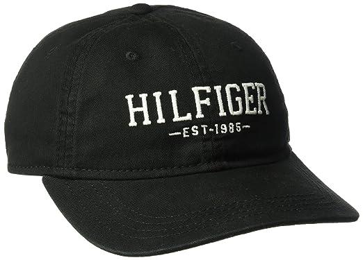 Tommy Hilfiger Men s Bucky Baseball Dad Cap 2b1173d0888