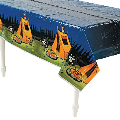 CAMP ADVENTURE TABLECOVER - Party Supplies - 1 Piece: Toys & Games