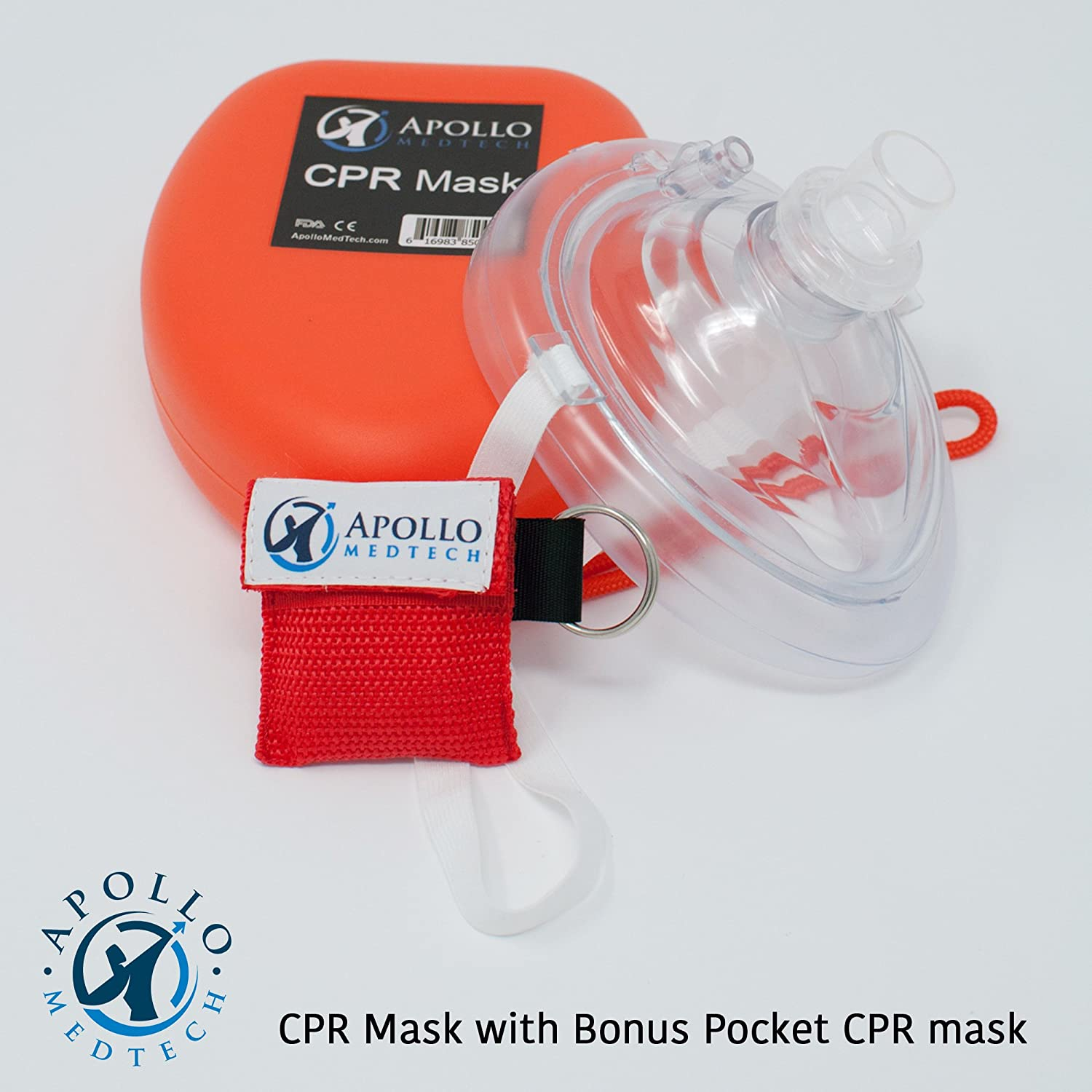 Amazon Cpr Mask With Bonus Keychain Cpr Mask First Aid Face