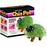 Chia Pet Puppy, Decorative Pottery Planter, Easy To Do and Fun To Grow, Novelty Gift, Perfect For Any Occasion (Contains Packets For 3 Plantings)