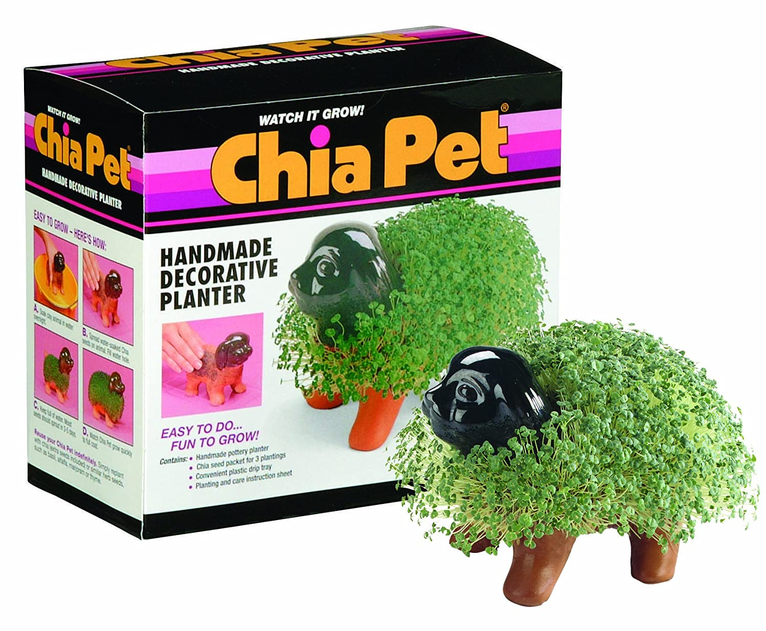 Chia Pet Bob Ross The Joy Of Painting Decorative Pottery Planter Easy To Do And Fun To Grow Novelty Gift Perfect For Any Occasion Cp493 01 1540972508 110000 12 16