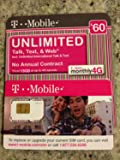 Sim Card Unlimited Voice, Text, & Data