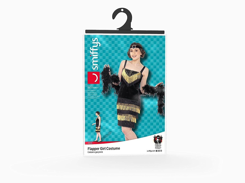 Smiffys Disfraz adolescente chica de la aleta, color negro (44376S): Amazon.es: Juguetes y juegos