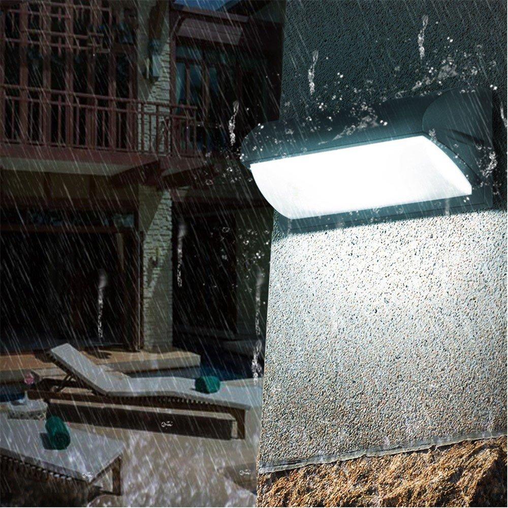 prendi l'ultimo Semplice europeo parete esterna di illuminazione a LED per esterni esterni esterni impermeabile luci corridoio balcone parete villa terrazza giardino lampada da parete  più economico