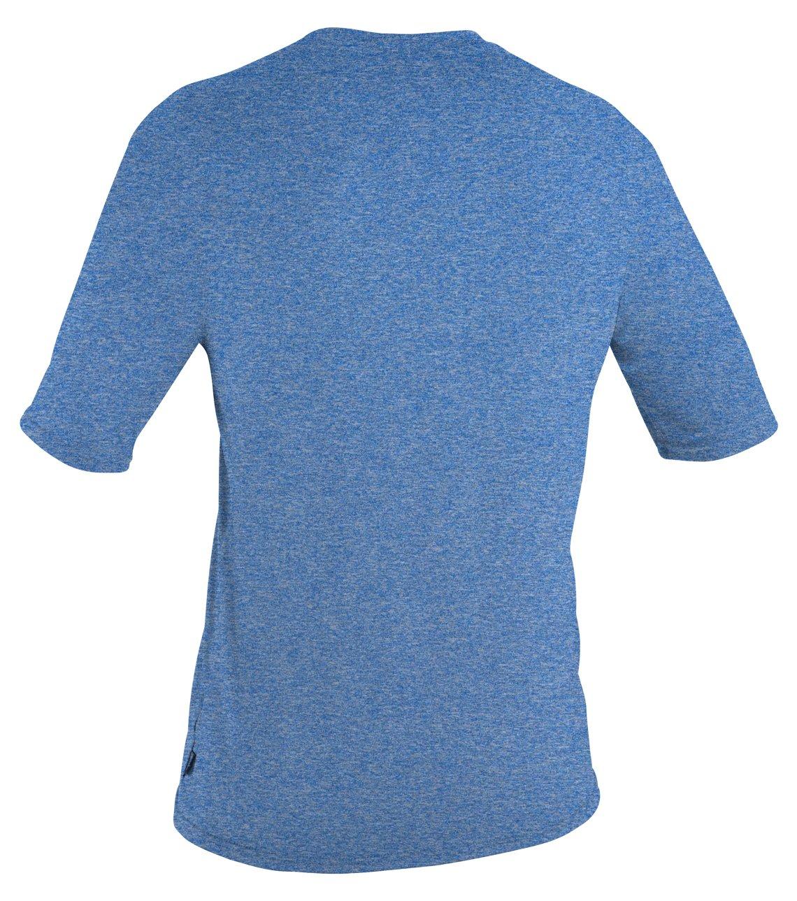 O'Neill  Men's Hybrid UPF 50+ Short Sleeve Sun Shirt, Blue,Small by O'Neill Wetsuits (Image #2)