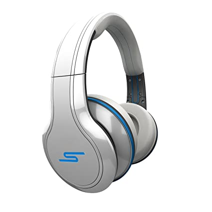 SMS Street by 50 Cent - Auriculares de diadema inalámbricos, color blanco
