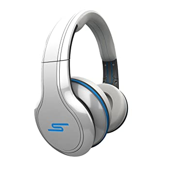 SMS Street by 50 Cent - Auriculares de diadema inalámbricos, color blanco: Amazon.es: Electrónica
