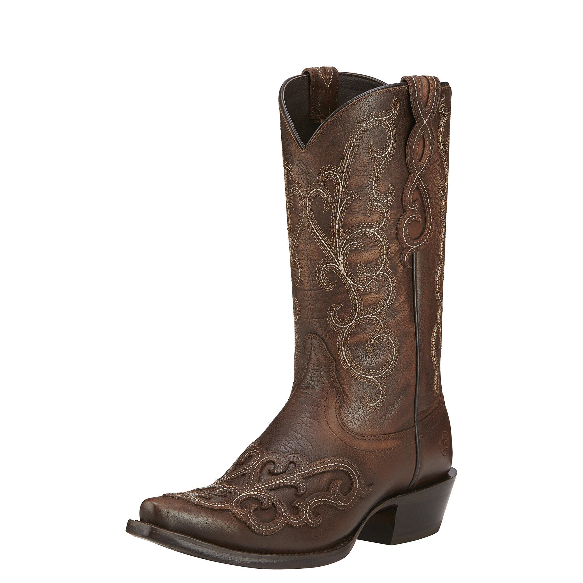 Ariat Womens Rainey New West 8.5 B Washed Maple