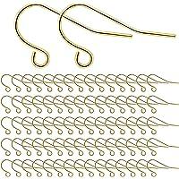 MengH-SHOP Örhängen krokar 925 sterlingsilver öronkrokar för gör-det-själv örhängen smyckestillverkning örontillbehör…