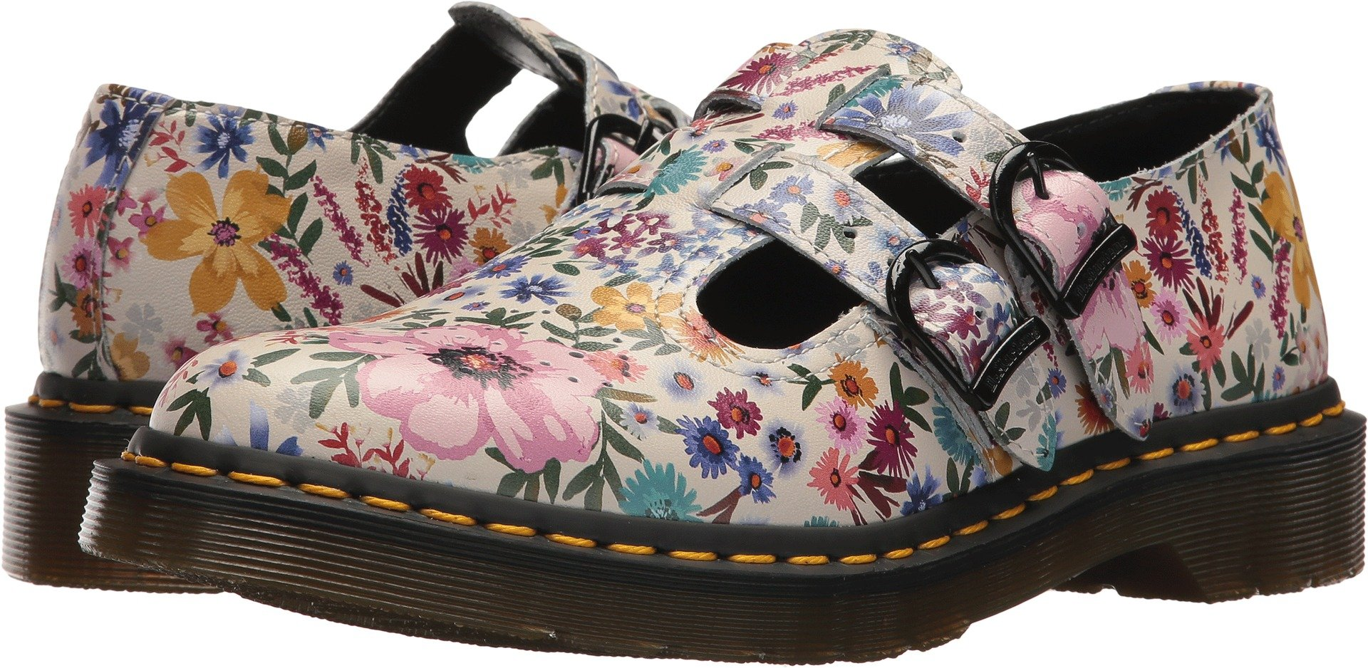 Dr. Martens Women's 8065 Wanderlust Oxford, Bone Mallow, 6 Medium UK (8 US)