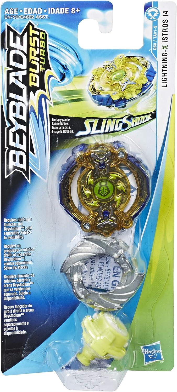 BEYBLADE Burst Turbo Slingshock Single Top Lightning-X Istros I4