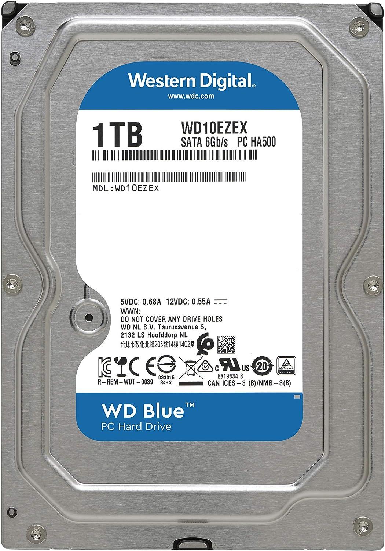 Wd Blue 1tb Interne Festplatte 3 5 Zoll Sata 6 Gb Computer Zubehör