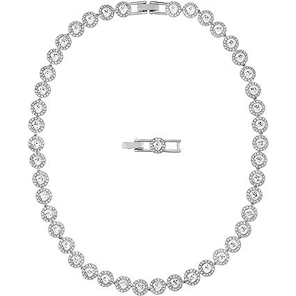 20ce8c274 Amazon.com: Swarovski Angelic All-Around Necklace - 5117703: Home ...