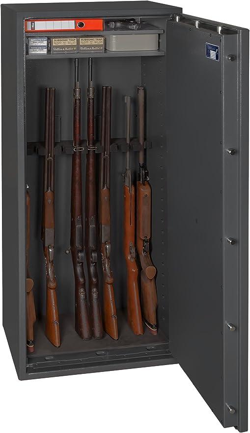 Gun Safe N 1-10 - Caja fuerte para armas (1548 x 648 x 418 mm, clase N/0, 10 unidades): Amazon.es: Bricolaje y herramientas