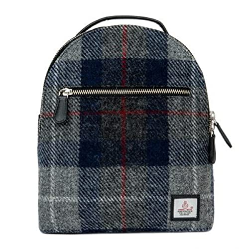 33e9367dcc96 Maccessori Genuine Harris Tweed Backpack (Blue Check)  Amazon.co.uk  Shoes    Bags