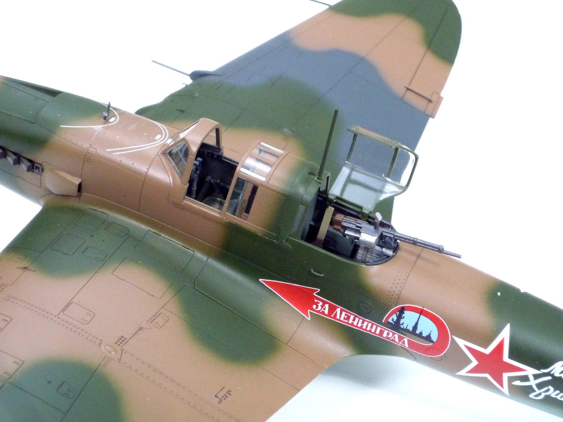 TAMIYA America, Inc 1/48 Ilyushin IL-2 Shturmovik Aircraft, TAM61113 6