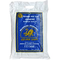 GOLDEN SWAN Fragrant Milagrosa Mabango Jasmine Rice, AAA, 10Kg