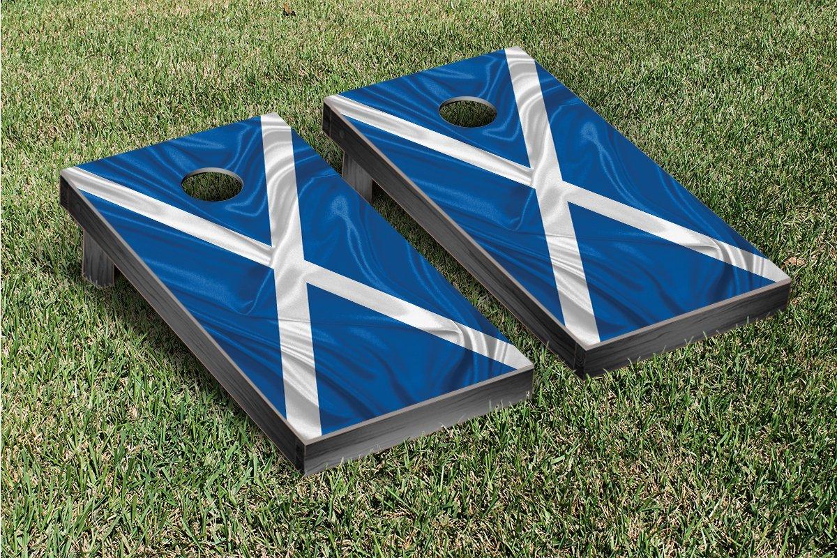 Country Rippled Flag Cornhole Game Set Country: Scotland