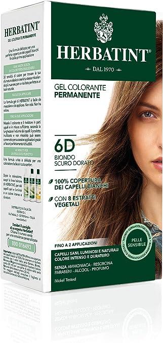 Phytoceutic Herbatint 4d/Castaño Dorado Gel Permanent 150 ml