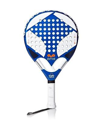 Eme Pala Pádel Serie Aluminio Aluminio Azul Única: Amazon.es: Deportes y aire libre