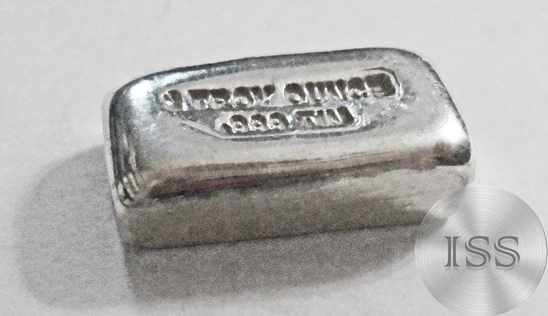1 troy oz TIN buffalo bullion bar .999 pure FINE
