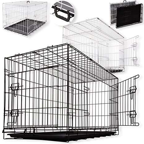 Auto Perros caja de transporte perros Box Perros jaula caja de ...